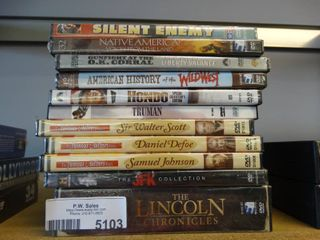 11 various DVDs