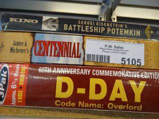 Battleship  D Day   other DVDs