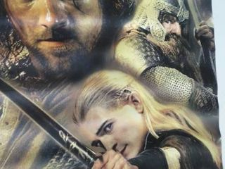 2 lord of The Rings Movie Posters