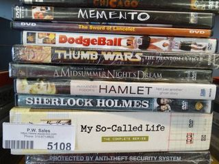 13 assorted DVD movies