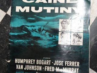 The Cain Mutiny Press Release Book