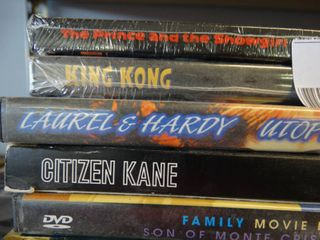 lot of DVD s