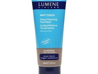 Lumene Matt Touch Deep-Cleansing Peat Mask