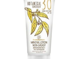 EXP: 04/19 Australian Gold Botanical Mineral Sunscreen Lotion - SPF30 - 5oz