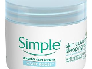 Unscented Simple Water Boost Sleeping Cream - 1.7oz