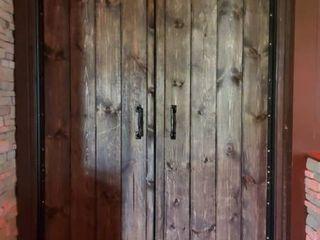 Pair Of Wood Doors