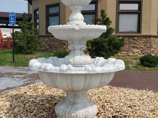 4 Tier Concrete Water Fountain