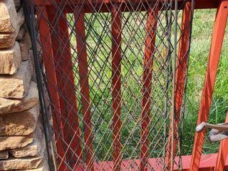 (4) Metal Yard Decor