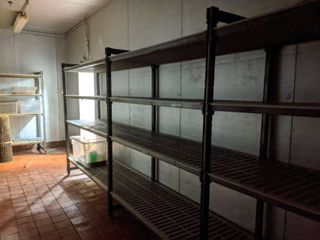 Shelving, Connected Units, Buyer Responsible For Removal