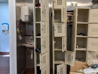 Lockers, Buyer Responsible For Removal