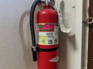 Fire Extinguisher, Buyer Responsible For Removal