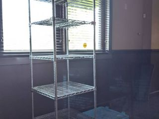 Shelf And Rolling Cart Without Handle