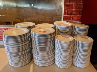 Lot Of Assorted Plates