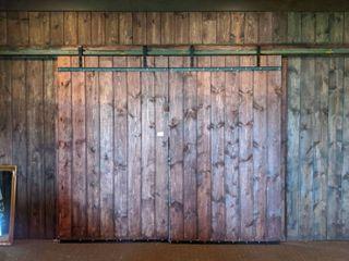 (2) Sliding Barn Doors With Hardware