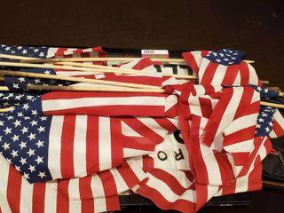 American Flags, Framed Shirt