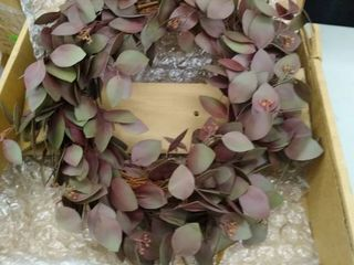 Seeded Oval Eucalyptus Wreath 24  Retail 87 99