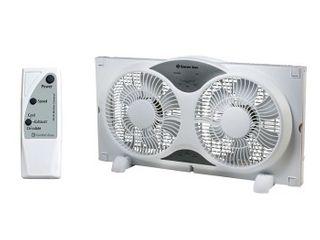 Comfort Zone CZ310R Twin Window Fan