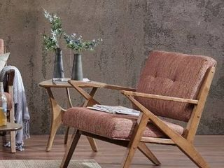 Carson Carrington Rapina Orange lounge Chair  Retail 243 99