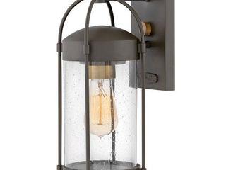 Hinkley lighting 1170 Oil Rubbed Bronze Drexler 1 light 13  Tall Outdoor Wall Sconce