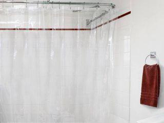 Juliette laBlanc Peva Shower Curtain liner  Clear