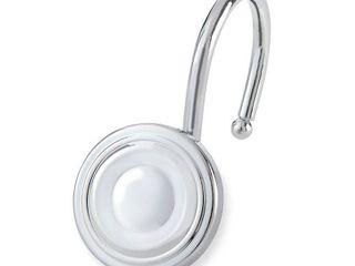 Elegant Home Fashions Circle Shower Hooks