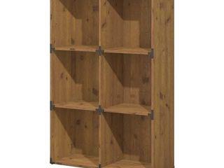 6 cube bookcase Bush Furniture
