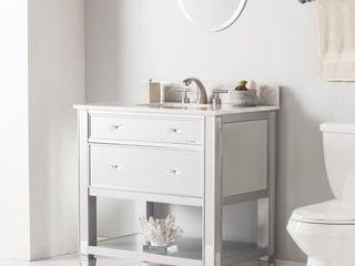 vanity  no sink
