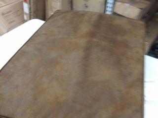 eluxury 27 x36  dog bed  brown