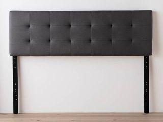 Brookside Emmie Adjustable Upholstered Headboard  Retail 104 99