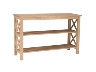 International Concepts Hampton Unfinished Console Table OT-70S