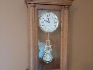 Bulova Wall Clock With Pendulum 14 1/2
