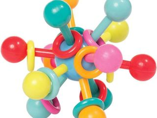 Manhattan Toy Atom Rattle & Teether Grasping