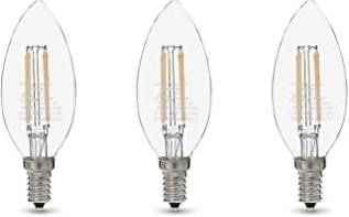 60W Equivalent, Clear, Soft White, Dimmable,