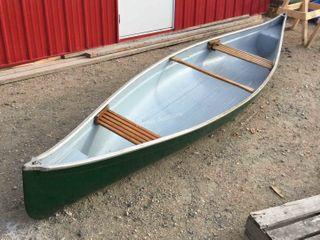 13-FT Fiberglass Canoe