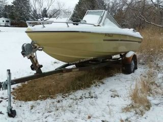 Sunray Fiberglass Boat & Trailer