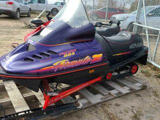 1996 Ski-Doo Formula Z 583cc Snowmobile