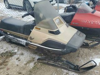 1985 Yamaha Excel 340 Snowmobile