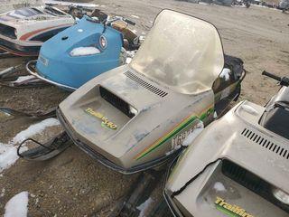 John Deere Trailfire Snowmobile
