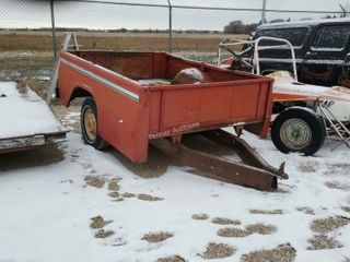 1/2 Ton Truck Box Trailer