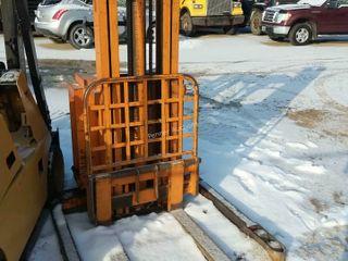 Blue Giant 4,000LB Electric Forklift
