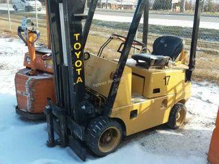 Toyota 02-FGC25 5000lb Forklift