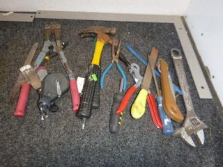 Hammers, Boltcutter, Wrench etc.
