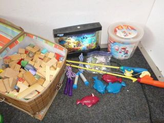 Misc. Kids Toys, Wooden Blocks etc.