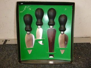 Pack of 4 Professional Consorzio Cheese Knives