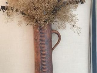 Nena Sanchez Print  Handmade Pottery Wall Vase