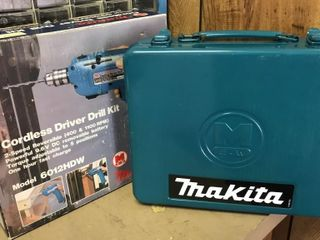 Makita Cordless Driver Drill  Model 6012HDW