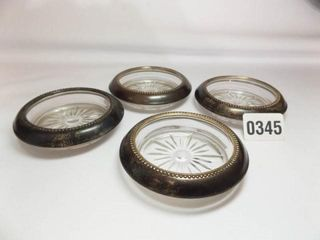 Whiting Sterling Coasters  4