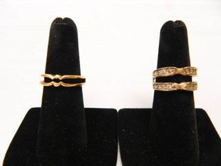 Ring Guards  Goldtone