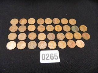 Wheatback Pennies; 1911-1919