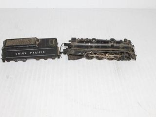 Union Pacific locomotive and Coal Car